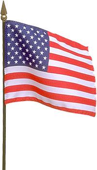 200x348 Waving American Flag Clip Art