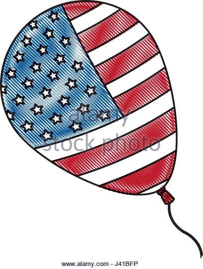 408x540 American Flag Sketch Stock Photos Amp American Flag Sketch Stock
