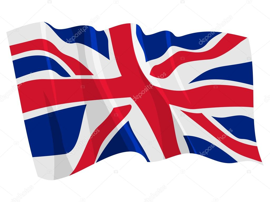 1024x768 Political Waving Flag Of United Kingdom Stock Vector Perysty