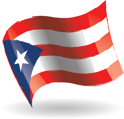 417x399 Puerto Rico Flag Waving Clipart The Arts Image Pbs