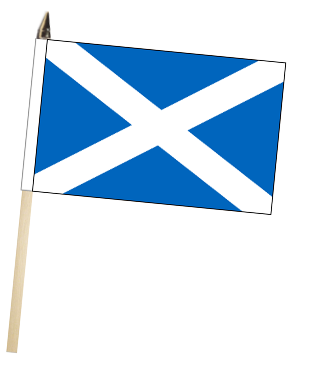 1052x1259 Scotland St Andrews Saltire Large Hand Waving Flag