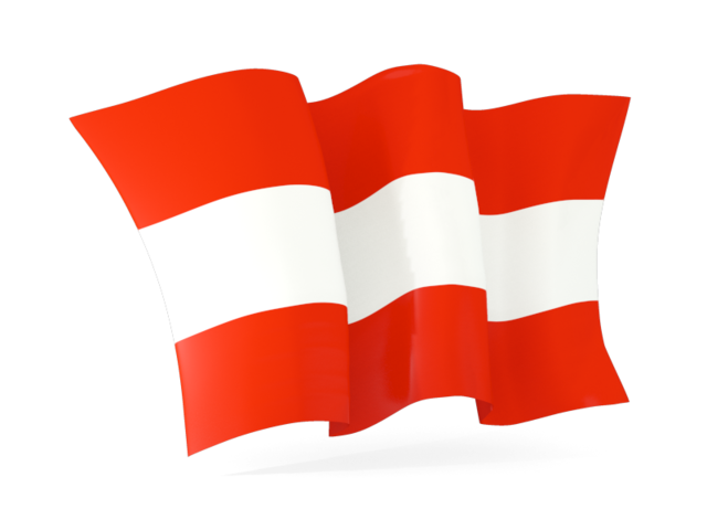 640x480 Waving Flag. Illustration Of Flag Of Austria