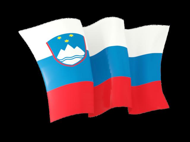 640x480 Waving Flag. Illustration Of Flag Of Slovenia