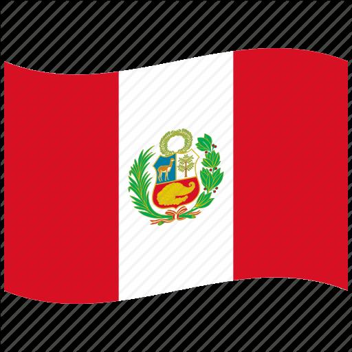 512x512 Branches, Cornucopia, Flags, Laurel, Pe, Peru, Waving Flag Icon