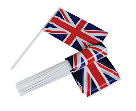 466x381 Union Jack Hand Waving Flag, Plastic Bristol Novelty Amazon.co