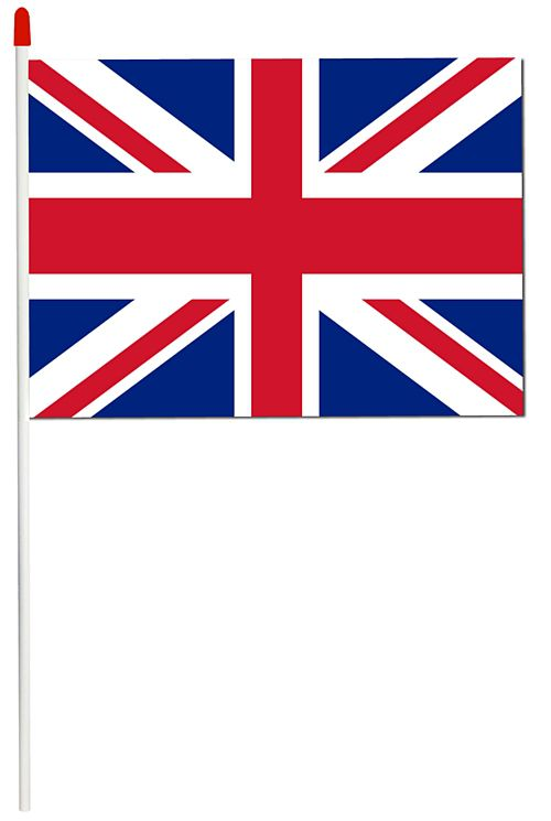 500x745 Union Jack Superior Pvc Hand Waving Flags