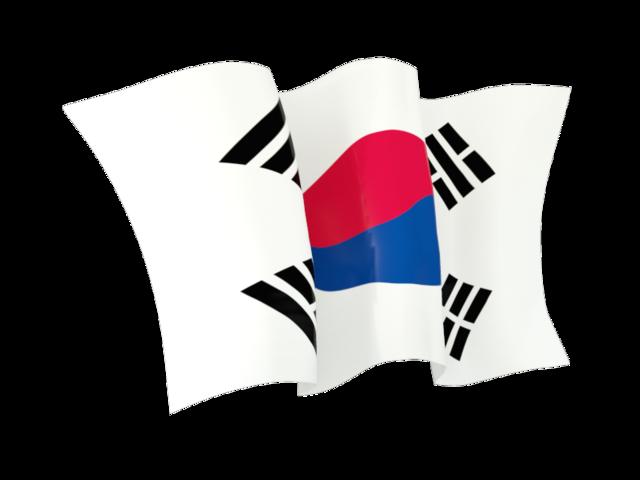 640x480 Waving Flag. Illustration Of Flag Of South Korea