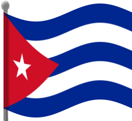 263x242 Cuba Flag Waving