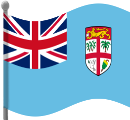 263x242 Fiji Flag Waving