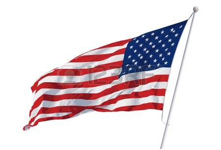 450x305 Flag Fluttering In The Wind Clipart