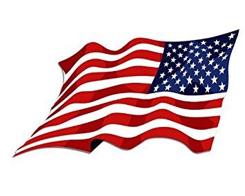 355x284 American Flag Clipart Waving Flag