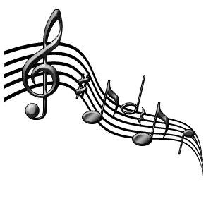 292x292 Music Staff Clip Art