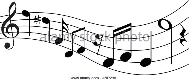 640x276 Treble Clef Musical Staff On Stock Photos amp Treble Clef Musical