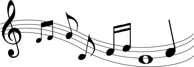 660x228 Wavy Music Staff Clipart