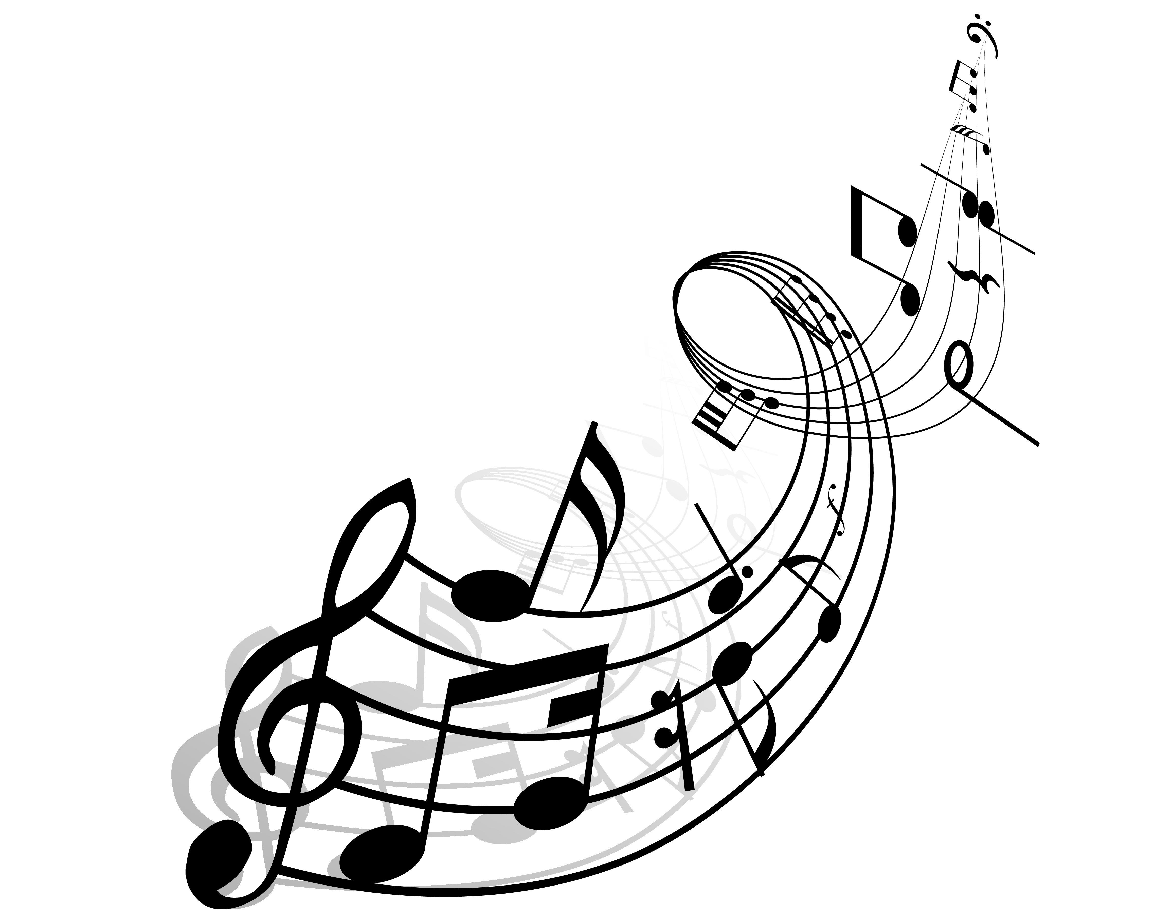 4556x3644 Blank Musical Staff