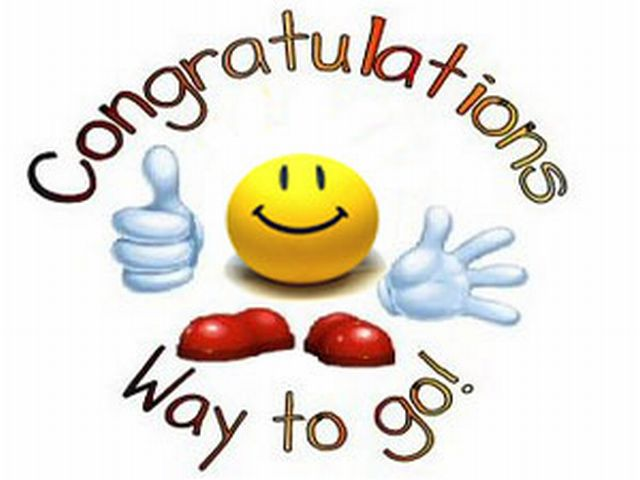 640x480 Congratulation Way To Go Clipart