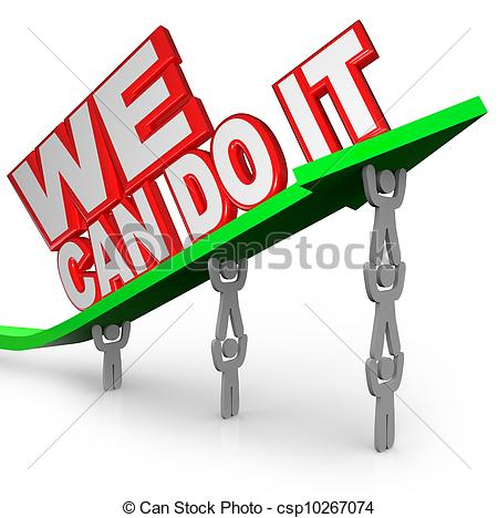 450x468 Clip Art We Can Do It Cliparts