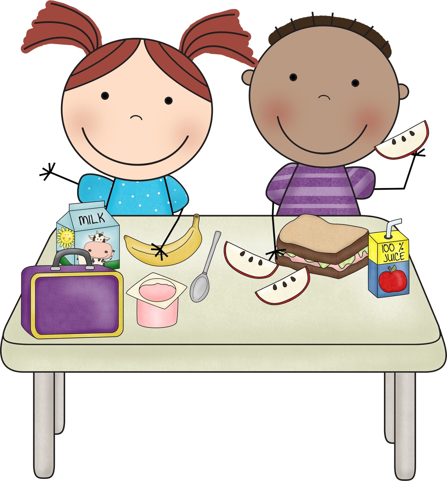 1488x1600 Lunchroom Clipart