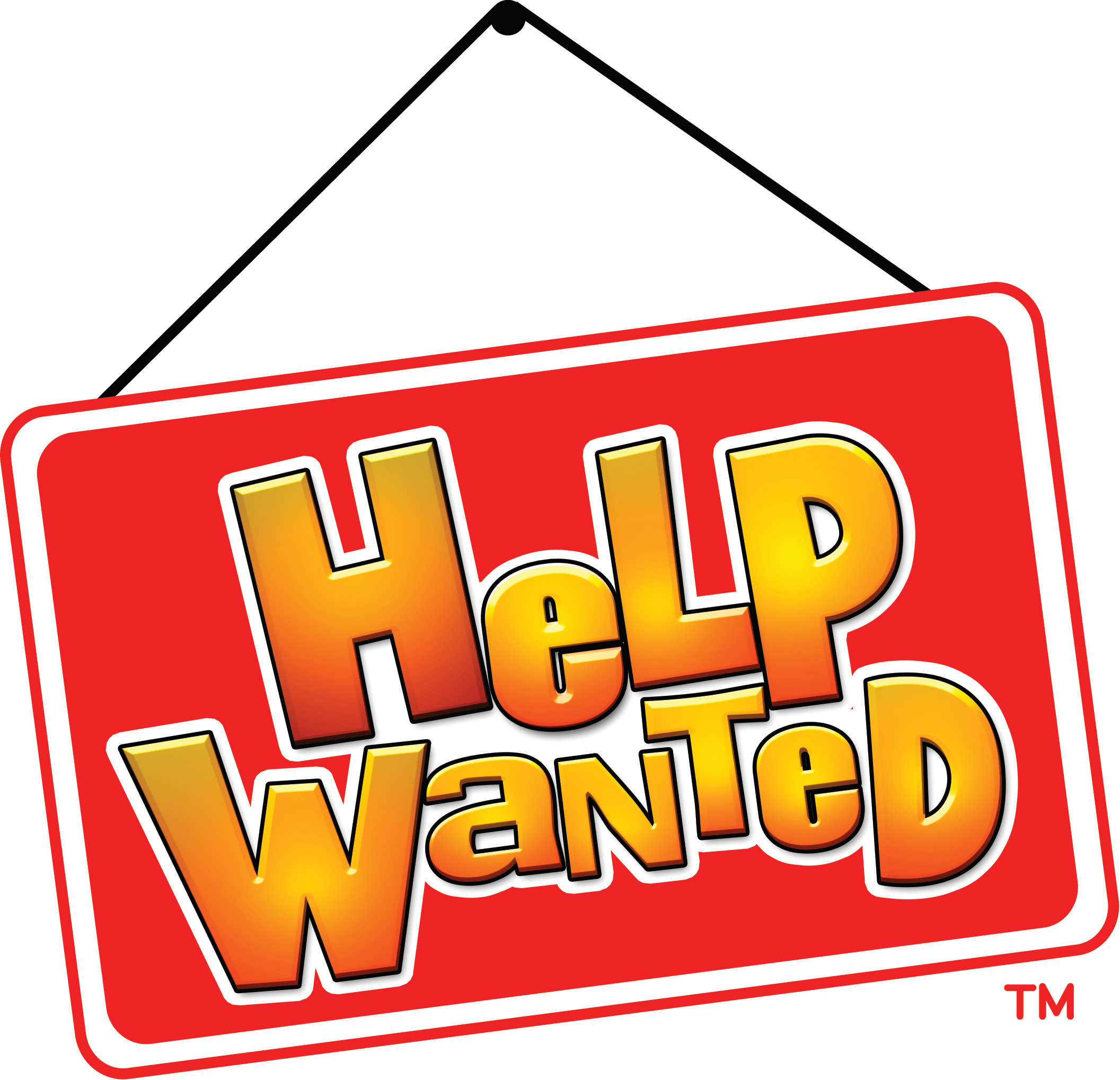 2113x2038 Red Orange Help Wanted Clipart