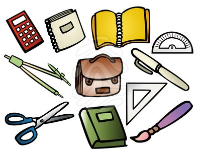 400x300 Things We Use In School Clipart