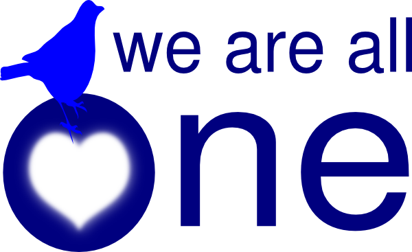 600x367 We Are All One Clip Art