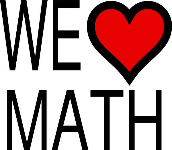 600x522 We Heart Math Clip Art