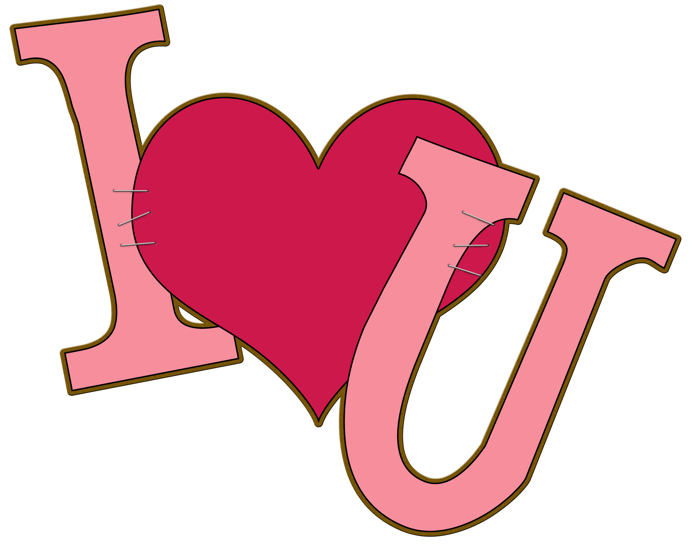 2322x1837 We Love You Clipart