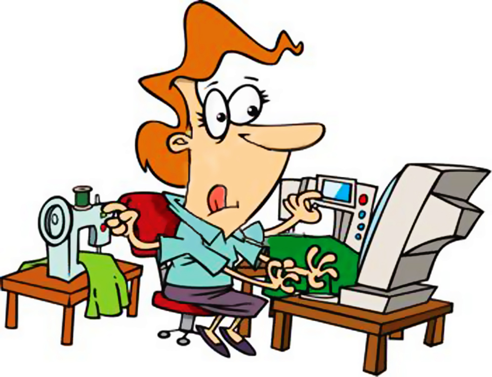972x744 Busy Jobs Clipart
