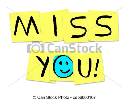 450x350 Miss You Clipart