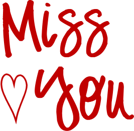 267x261 We Missed You Clip Art Clipart Collection