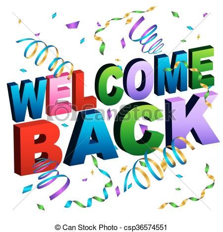 450x470 Welcome Back Clip Art