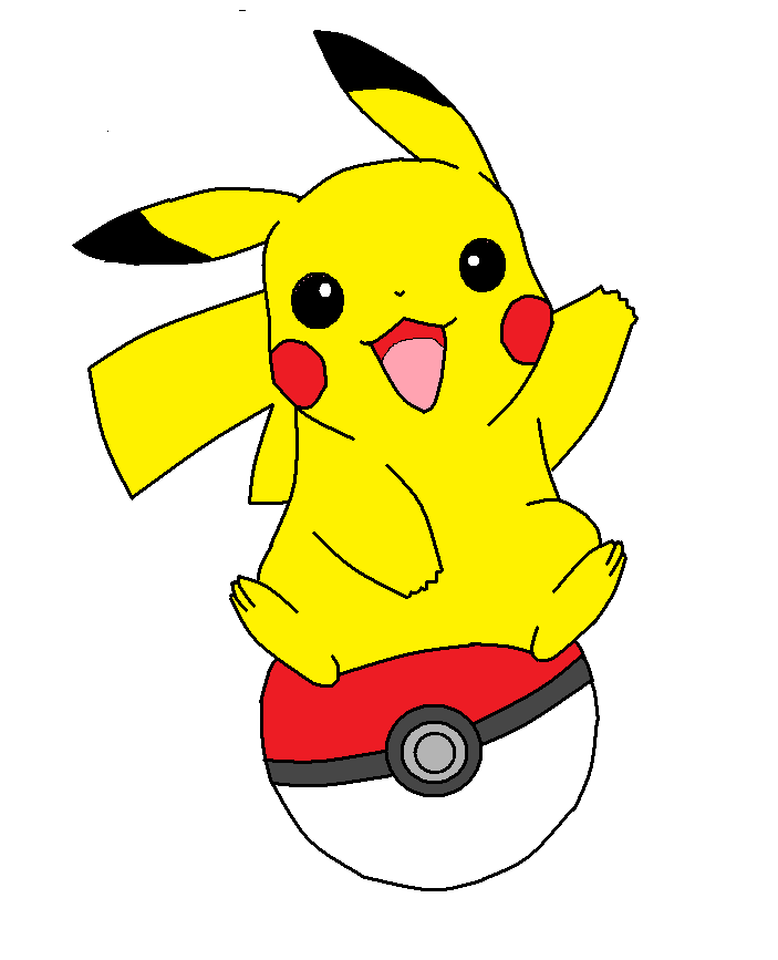 703x867 Pikachu A Pokeball By Weasel Fox