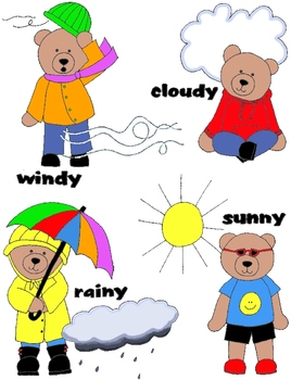 268x350 Weather Bears Clip Art 48 PNGs APRILFLASHSALE14 by Rebekah Brock