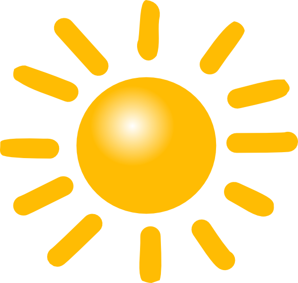 600x571 Weather Sunny Clip Art