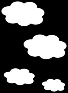 216x297 Clouds Clip Art