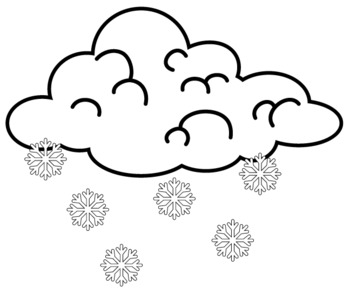 350x293 Weather Clip Art Black And White