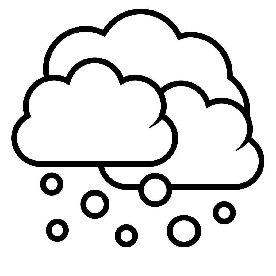 900x900 Weather Clipart Black And White Images And Pictures
