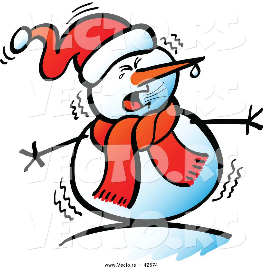 1024x1044 Chilling Clipart Cold Weather