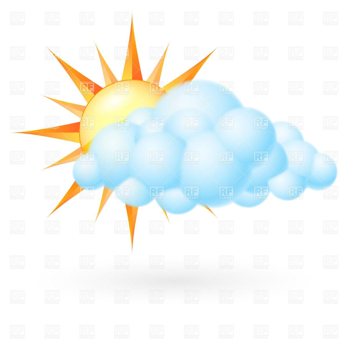 1200x1200 Sun With Cloud
