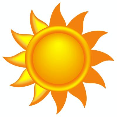 400x400 Sunny Clipart