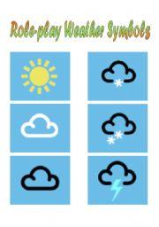 180x256 English Worksheets Weather Symbols