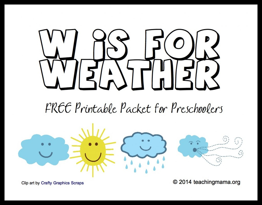 1024x800 Free Printable Weather Activities For Kids True Aim