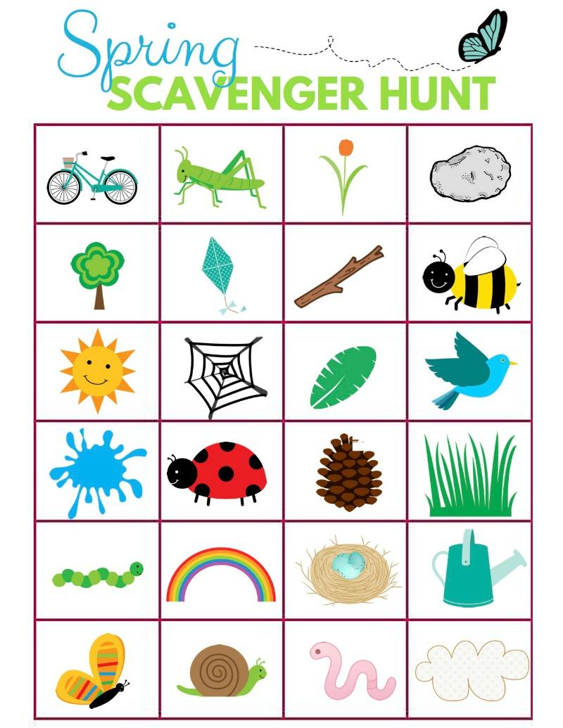 800x1035 Scavenger Hunt Ideas For Kids Let's Get Outside!