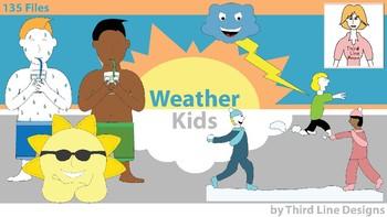350x197 Weather Kids By Third Line Teachers Pay Teachers