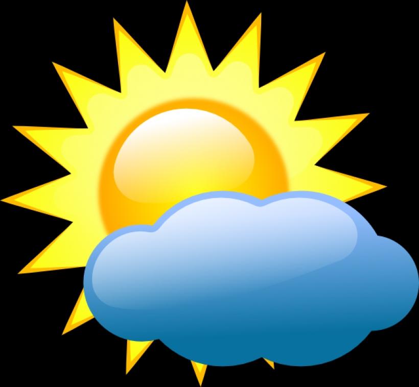 820x758 Weather Symbols Clip Art