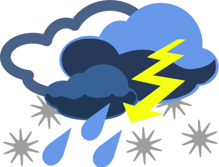 700x532 Severe Weather Clip Art