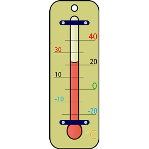 300x300 Weather Thermometer Clip Art Clipart Image