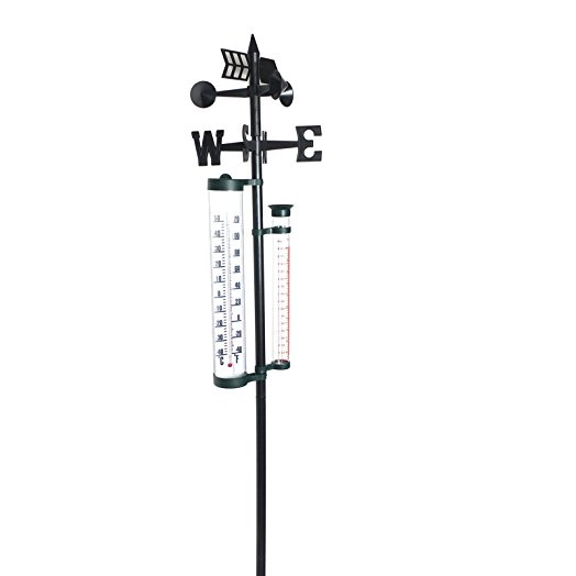 524x524 Garden Weather Thermometer Station