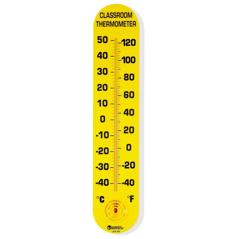 1000x1000 Learning Resources Classroom Thermometer Office Products