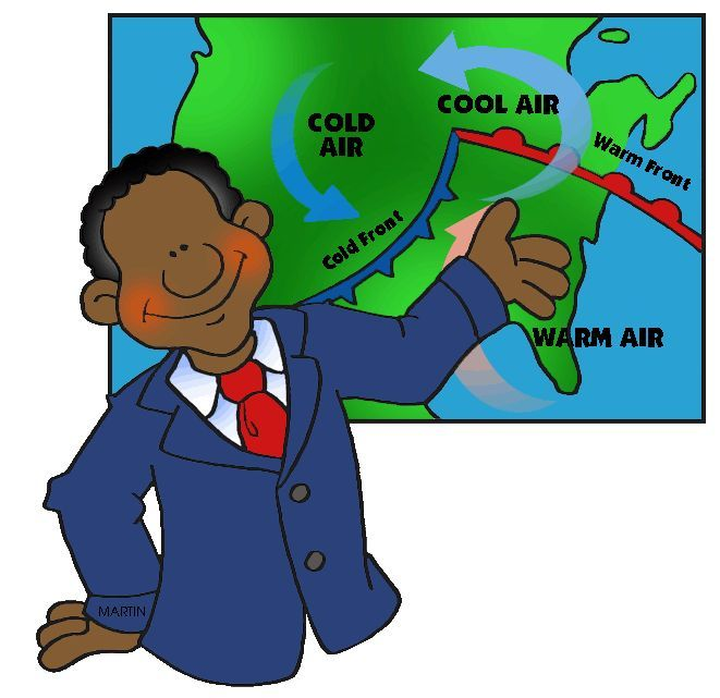 Weatherman Clipart